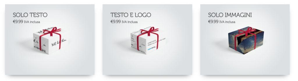 Scopri papername.com carta da regalo personalizzata