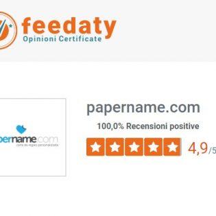 recensioni feedaty papername